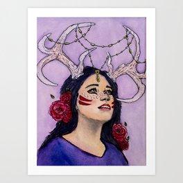 Belleza Art Print