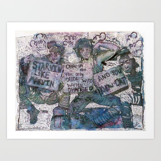 United States of Whatever Art Print