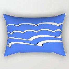 Mariniere marinière – new variations IV Rectangular Pillow