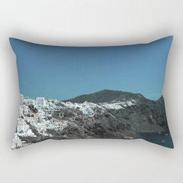 Santorini, Greece 4 Rectangular Pillow