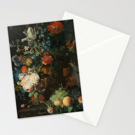 Jan van Huysum - Still Life with Flowers and Fruit Stationery Cards