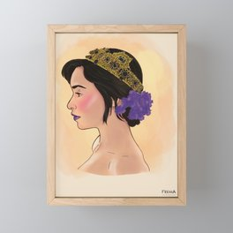 Emilia Framed Mini Art Print