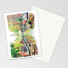 Amsterdam Canal 2 Stationery Cards