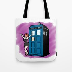 Heather Who Tote Bag