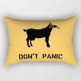 DON'T PANIC I Rectangular Pillow