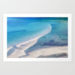 Northern beach Art Print