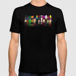 Superhero Butts - Girls - Row Version - Superheroine T-shirt