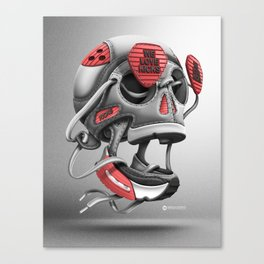 We love Kicks Canvas Print