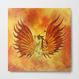 Phoenix magical creature, Rise like a Phoenix Metal Print