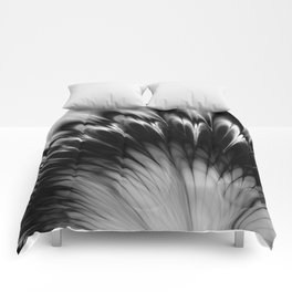 Black and White Elegance Comforters