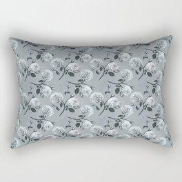 Romantic roses - Gray Rectangular Pillow