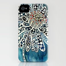 Flower Paintings: Lace Flower Slim Case iPhone (4, 4s)