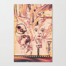 Grans problemes Canvas Print
