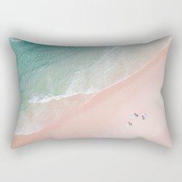 Surf Yoga II Rectangular Pillow