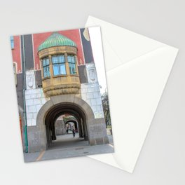 Subotica city hall detail #1 Stationery Cards