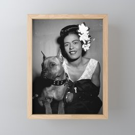 Billie Holiday : Lady Day & Her Mister Framed Mini Art Print