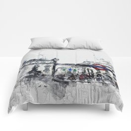 Piccadilly Circus London Comforters