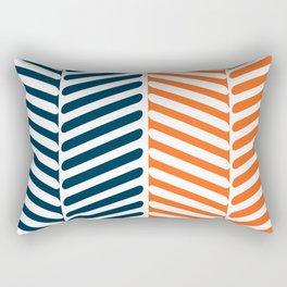 Tribal Leaves Rectangular Pillow