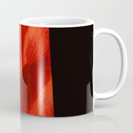 red shape Coffee Mug
