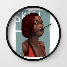 Skin Diamond Wall Clock