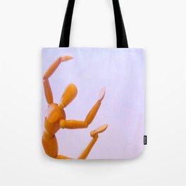Dancing Man Tote Bag