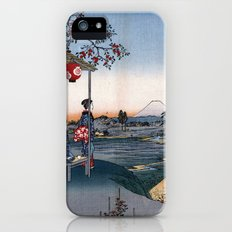 The Teahouse with the View of Mt. Fuji at Zōshigaya iPhone (5, 5s) Slim Case