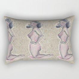 Pin Up Girl Rectangular Pillow
