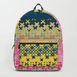 Abstract Irregular Artwork Pattern  Backpack
