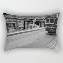 City Circle via Flinders St Rectangular Pillow