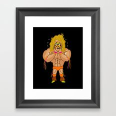 The Ultimate Worrier Framed Art Print