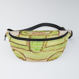 Happy turtle Fanny Pack