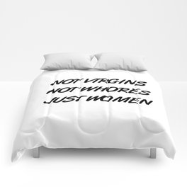 Feminist Slogan Comforters