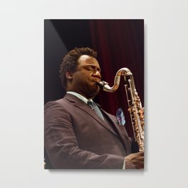 Myron Walden from the Brian Blade and the Fellowship Band. XII Panama Jazz Festival Metal Print