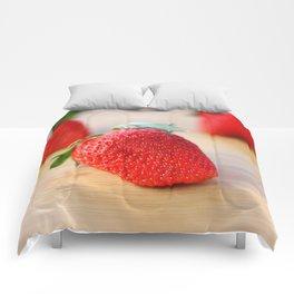 Fresh Strawberries 2018 Comforters