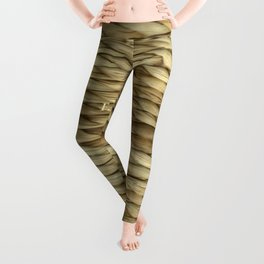 Weaved texture Leggings