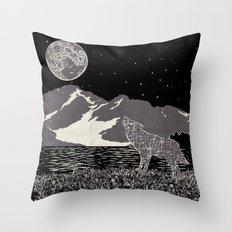 Wolf 3 Throw Pillow
