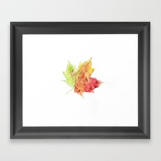 Fall Leaf #2 Framed Art Print