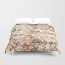 MERMAID GOLD Duvet Cover