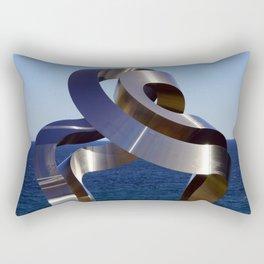 Sculptures by the Sea - Bondi to Coogee walk, Sydney Rectangular Pillow