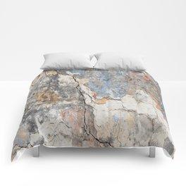 Flaking Weathered Wall rustic decor Comforters