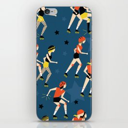 Roller Derby Girls iPhone Skin