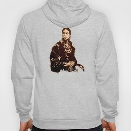 FRIDA KAHLO - the mistress of ARTs - quote Hoody