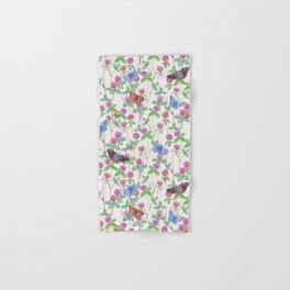 Clover Meadow Pattern - Neutral Hand & Bath Towel