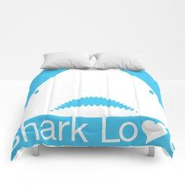 Shark Love II Comforters