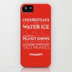 Philadelphia — Delicious City Prints Slim Case iPhone (5, 5s)