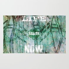 Life Starts Now Rug