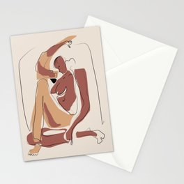 Native nude Stationery Cards