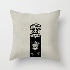 The Pit Throw Pillow