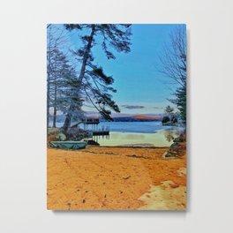 Lake Winnipesaukee Metal Print