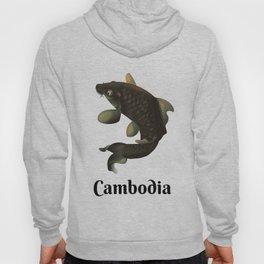 Cambodia travel poster Hoody